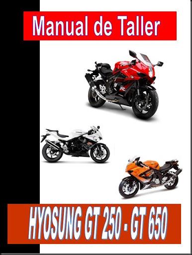 manual Hyosung GT 650 R