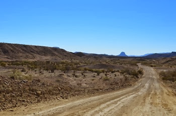 Old Maverick Road to Santa Elena Canyon
