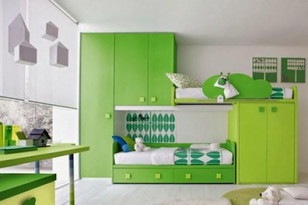 decoracion-habitacion-de-niño-color-verde