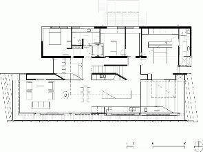 Plano casa Beaumaris Maddison Arquitectos
