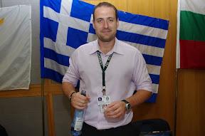 Ionnais from Greece.  Ouzo tastes like licorice.