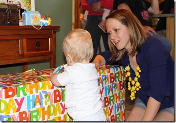 Hayden's first birthday 106