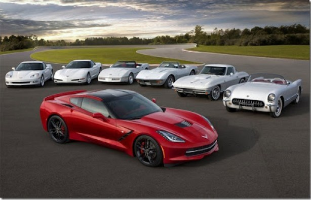 Corvette-all-generation