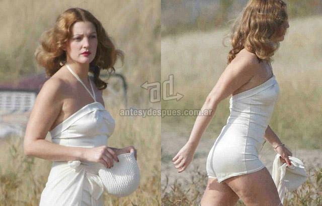 Fotos de la celulitis de Drew Barrymore