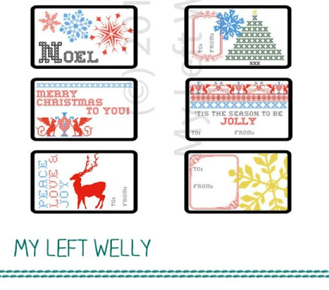 Printable and Template Gift Guide Round Up