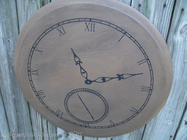 make your own pocket watch wall art