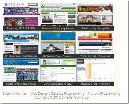 Menerima Pembuatan Website Profesional Bersama 8Media Technology