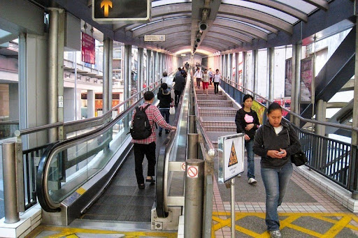 Image result for mid levels escalator