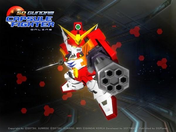 SD Gundam Capsule Fighter Online 2