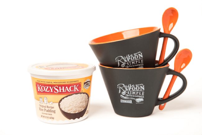 Kozy Shack Pudding Giveaway - #puddinglove