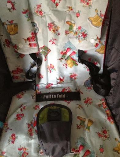 baby jogger city mini pram liner custom order pull strap