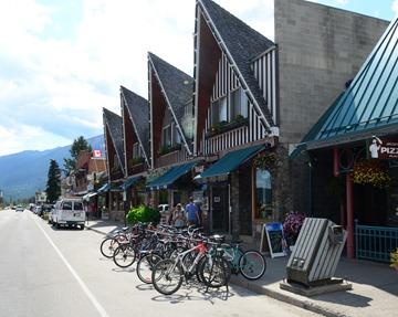 the downtown strip in Jasper