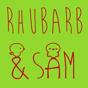 Rhubarb and Sam Logo