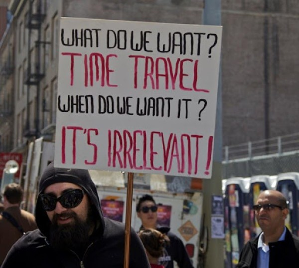 Time Travel irrelevant