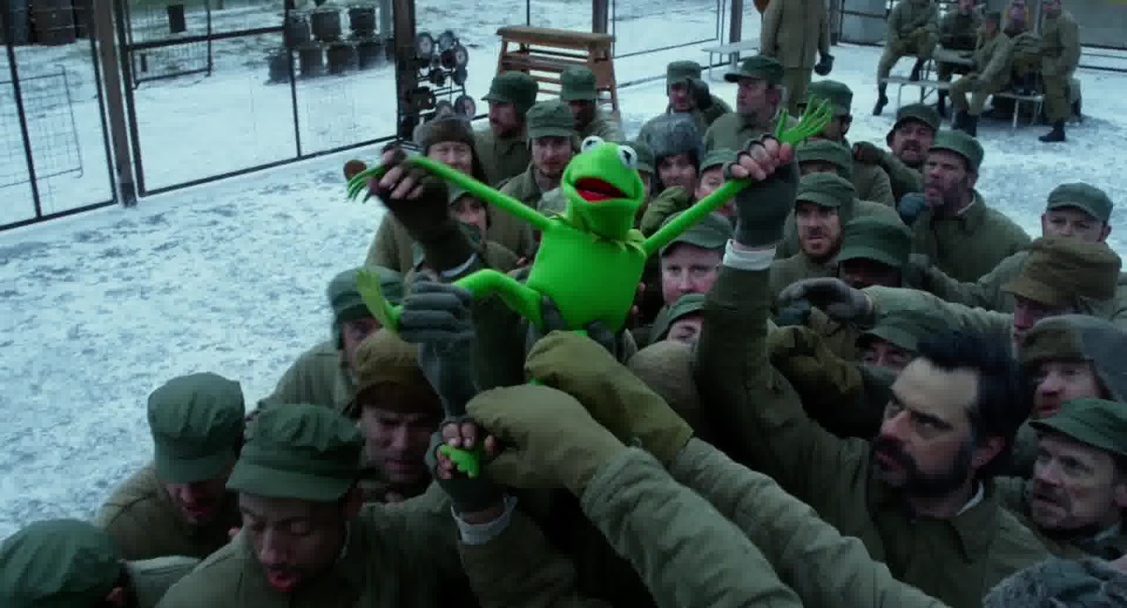 "MuppetsHenson: Steve Whitmire ""Muppets Most Wanted"" Cameo?"