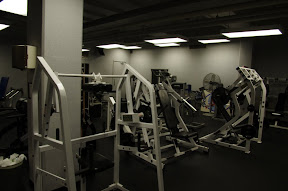 The Weight Room, actually, just part of it.
