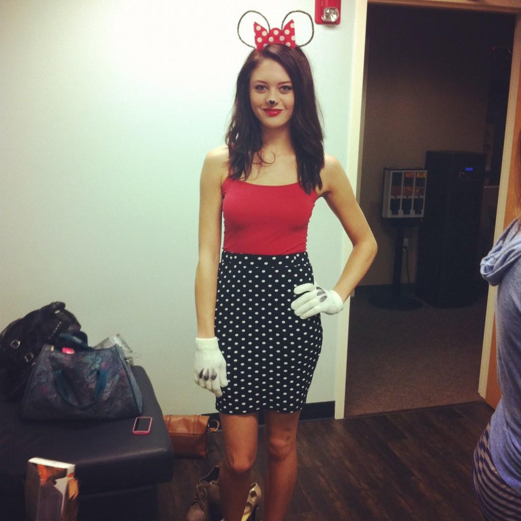 minnie mouse halloween costume diy | cartooncreative.co
