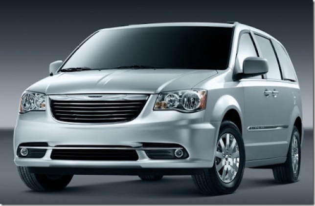 Town & Country Touring 2012