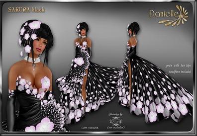DANIELLE Sakura Black'
