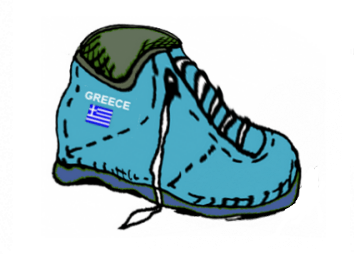 Greek EEZ as Athletic Shoe!