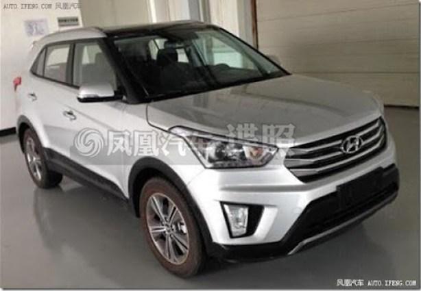 Hyundai-ix25-production-model-spied-front
