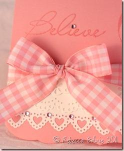 donna believe card closeup