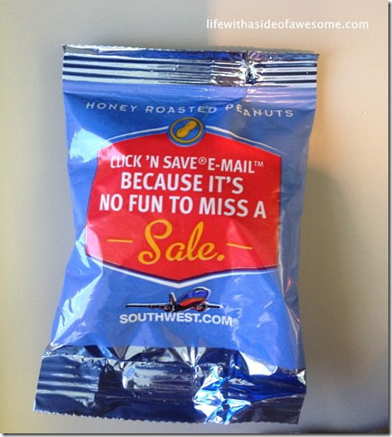 4 snack on the flight to austin