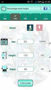 BMI Ideal weight and calories screenshot 20