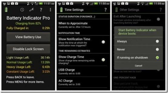 aplikasi pemberitahuan baterai di android