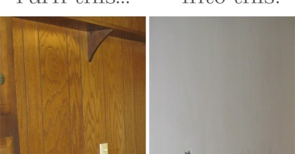 Create How To Make Old Paneling Look Like Drywall