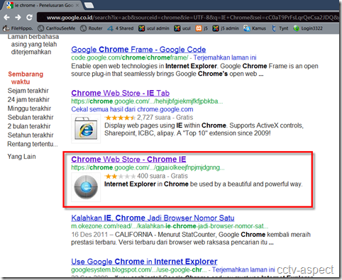 ie on chrome 1
