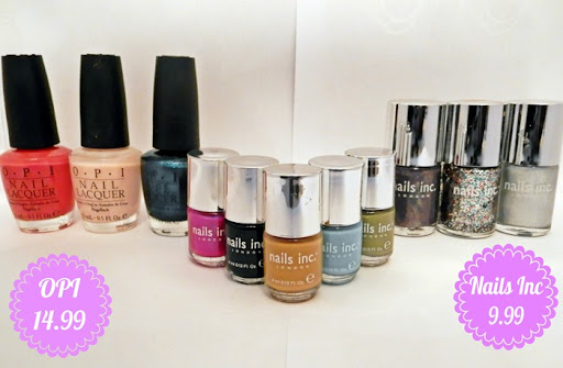 Discounted OPI and Nails Inc