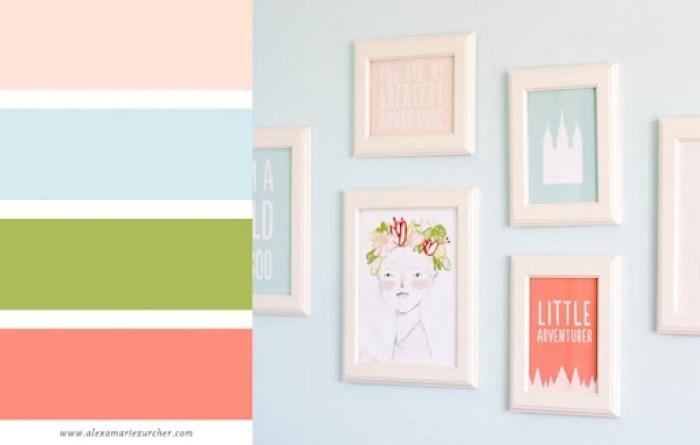 nursery color palette