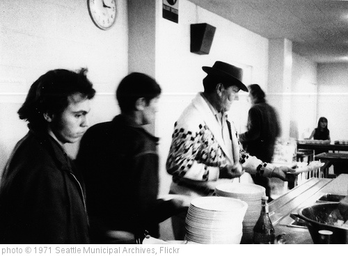 'Men at soup kitchen, 1971' photo (c) 1971, Seattle Municipal Archives - license: http://creativecommons.org/licenses/by/2.0/