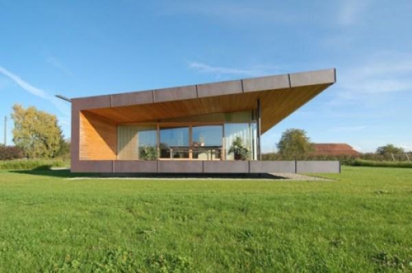 Fachada casa granja k_m-architektur