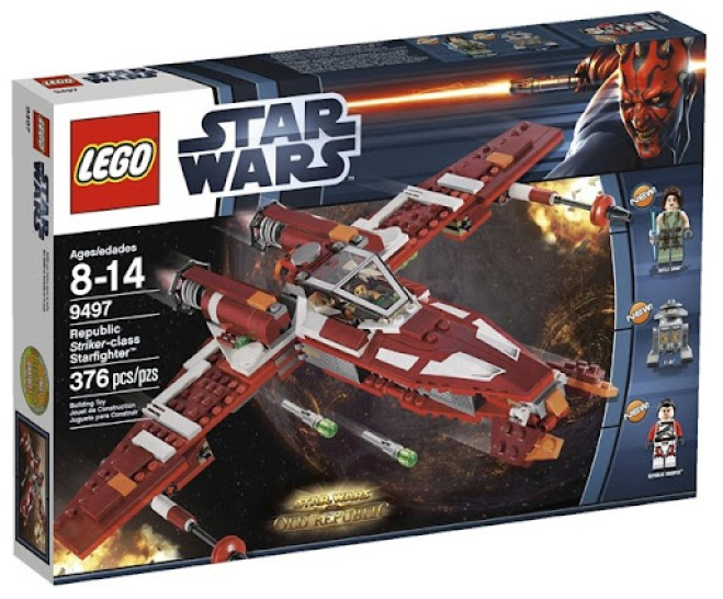 LEGO Republic Striker Class Starfighter