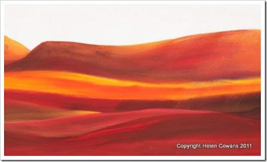 Moorland Sunrise close1