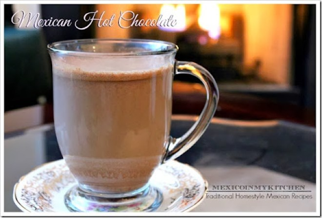 Mexican Hot Chocolate Recipe | Homemade Hot Chocolate Mix | Authentic Mexican Recipes by Mexico in My Kitchen