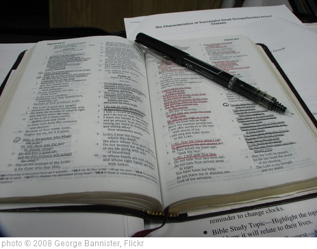 'Bible Study 2' photo (c) 2008, George Bannister - license: http://creativecommons.org/licenses/by/2.0/