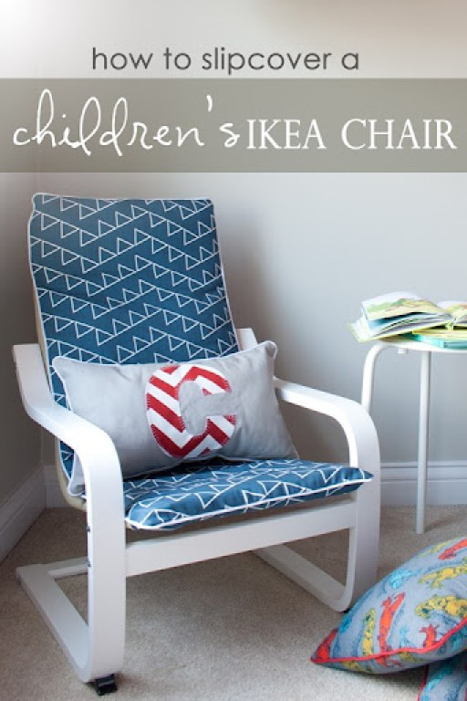 To Slipcover A Childrens Ikea Poang Chair Interiors By Sarah