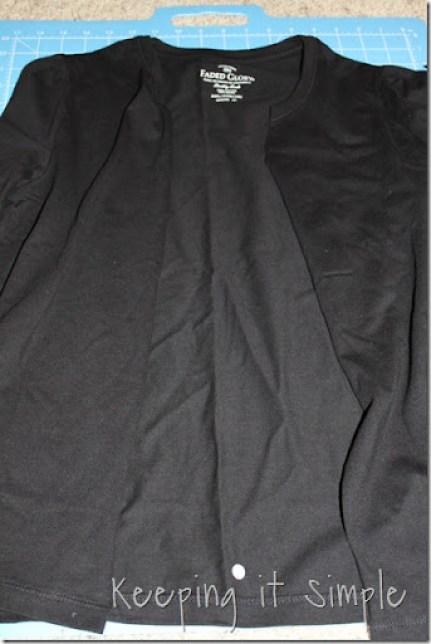 t-shirt to cardigan (3)
