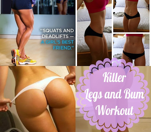 bum and leg day workout
