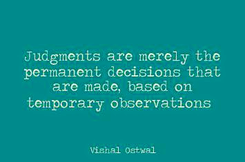 Vishal Ostwal judgment quote
