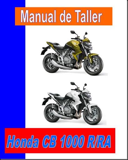 manual taller cb 1000 r