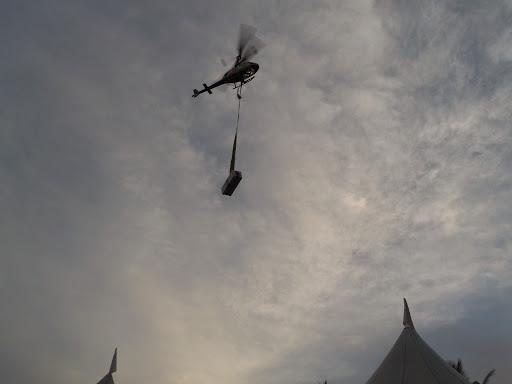 Majlis Iftar eQurban - helikopter