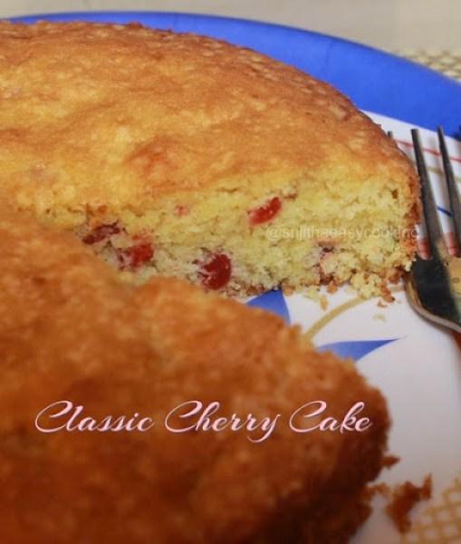 Classic Cherry Cake2