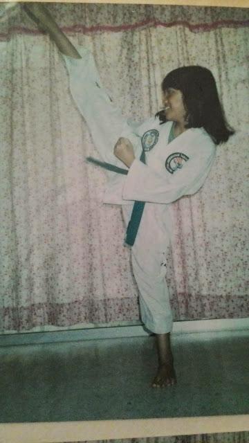 Girl practicing Taekwondo | Ummi Goes Where?