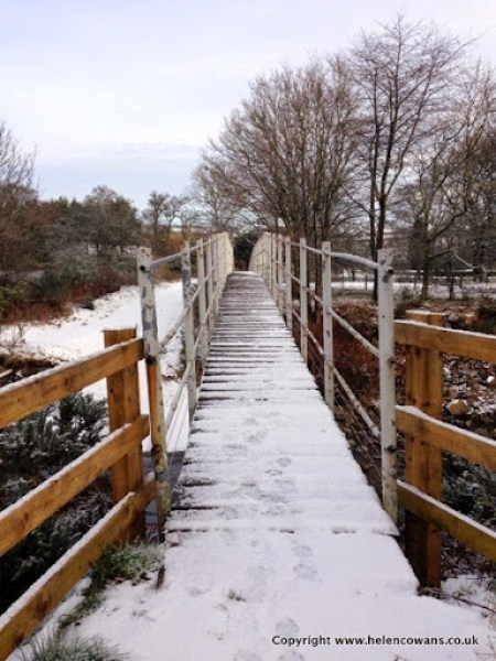 Wooler walk bridge