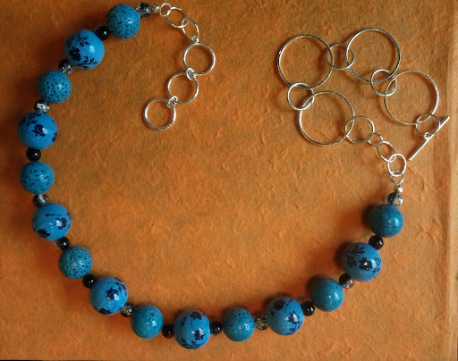 flower bobble necklace