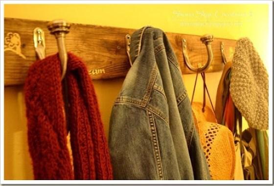 Shona Skye Creations - Reclaimed Decking Coat Rack